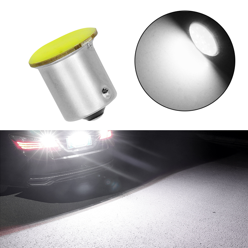 1PCS Hot Sale Ba15s Cob P21w LED 12 SMD 1156 12V LED Bulbs RV Trailer Truck Interior Lamp 1073 Parking Auto Car Styling