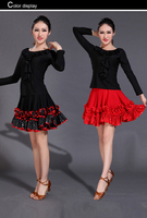 High Quality Social Dance Skirt New Skirt Square Skirt Was Thin National Standard Dance Modern Dance