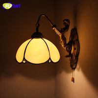 FUMAT Wand Lampe LED Home Deco Kunst Glasmalerei Schatten Wohnzimmer Nacht Indoor Lichter Leuchte Korridor Bar Wandlampen Wand lampen