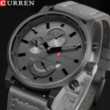 Fashion Quartz Watch Men Watches CURREN Male Clock Analog Sp