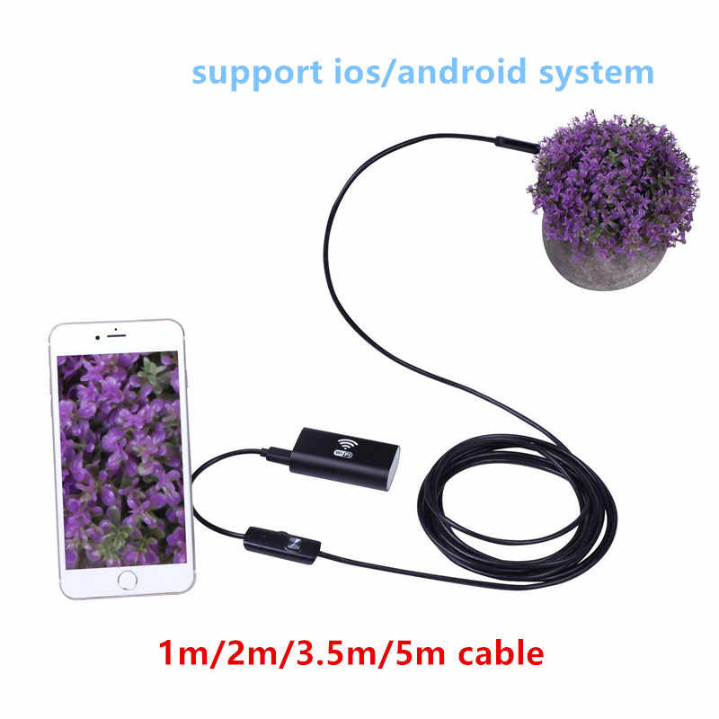 HD 720 p 1/2/3,5/5 mt Wifi Endoskop Kamera Android Endoskop Wasserdichte Kamera Endoskopische Android iOS Boroskop Kamera Für Iphone
