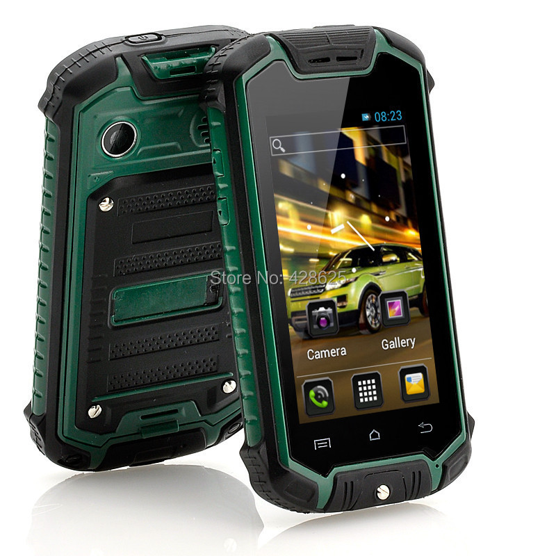 On New Mini Waterproof Phone Mtk6572 Dual Core 3g Wcdma Outdoor Rugged Android Smart Suppoort Multi Languages In Mobile Phones From