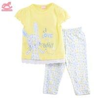 Luvena Fortuna 2pcs Baby Children Kids 2 Piece T Shirt Legging Set H9692 Sold By JD