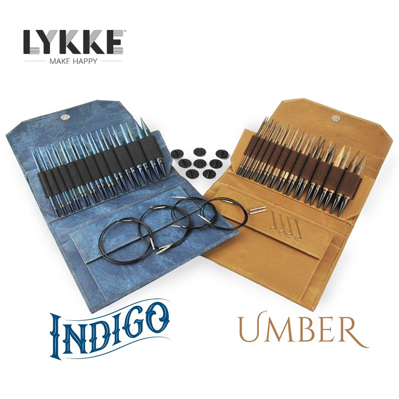 LYKKE 5 INTERCHANGEABLE CIRCULAR KNITTING NEEDLE SET 2018 LIMITED EDITION