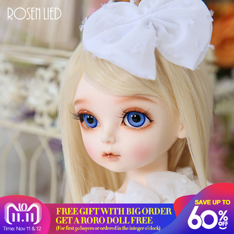 Rosenlied RL Holiday Bebe 1/4 Resin Body Model Boys Girls Oueneifs High Quality Toys Free Eyes Shop Fullset BJD SD Dolls oueneifs bjd sd dolls supia emma 1 3 body model girls boys eyes high quality toys shop resin free eyes