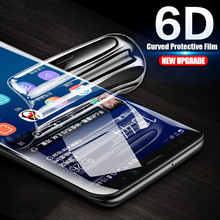 6D Curved Soft Protective Film For Samsung Galaxy Note 9 8 Screen Protector For Samsung S10 S9 S8 Plus S7 S6 Edge ( Not Glass ) цена