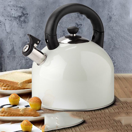 Houmaid kitchen accessories cooking tools stainless steel whistle kettle water kettle metal tea pot