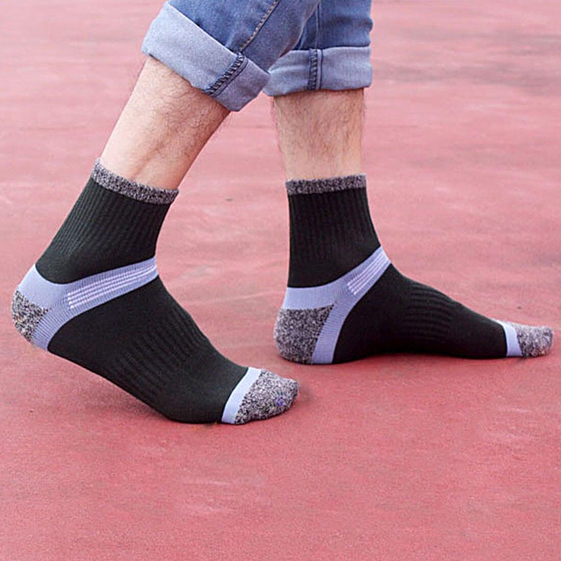 Charming 3 Pairs/Lot Cotton Socks Compression Breathable Socks Boy Contrast Color Standard Meias Good Quality Sheer Socks