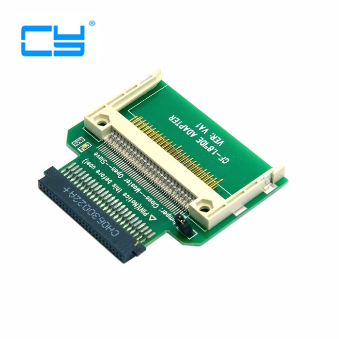 1pcs/ CF Compact Flash Merory Card To 50pin 1.8 Inch IDE Hard Drive SSD Converter Adapter For Toshiba