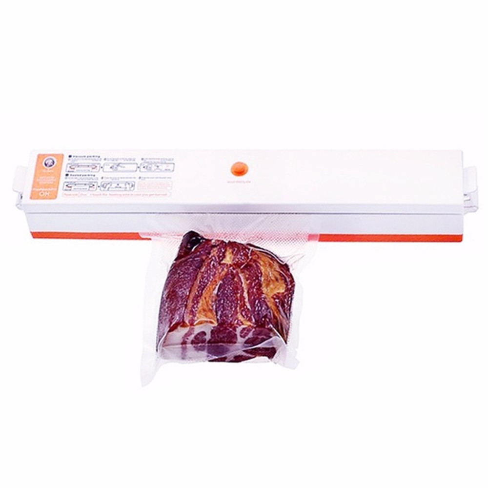 Storage Household Food Vacuum Sealer Packaging Machine Home Film Sealer Vacuum Packer With 15Pcs Vacuum Sealer Storage Bags