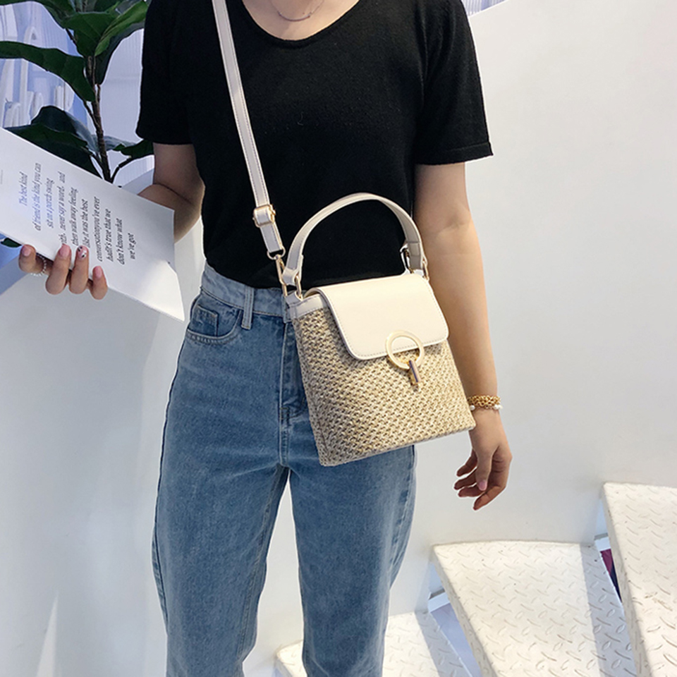 Straw Bucket Bag (19)