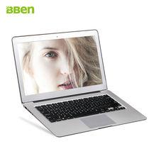 Bben 13.3 »ноутбуки ультратонких ПК Windows 10 Intel Haswell i5 5200U Dual Core 8 ГБ ОЗУ 512 г SSD HDMI WIFI BT4.0 ноутбук