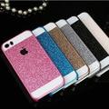 Colorful Acrylic Luxury Diamonds Scratch Resistant Sequins Don't Fall Powder Case For iPhone 6s Plus 6 Plus 6 5 5s 4 4s 100pcs