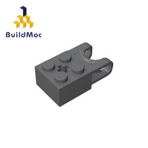 Image 2 - BuildMOC Compatible Assembles Particles 92013 2x2 For Building Blocks Parts DIY LOGO Educational Cre