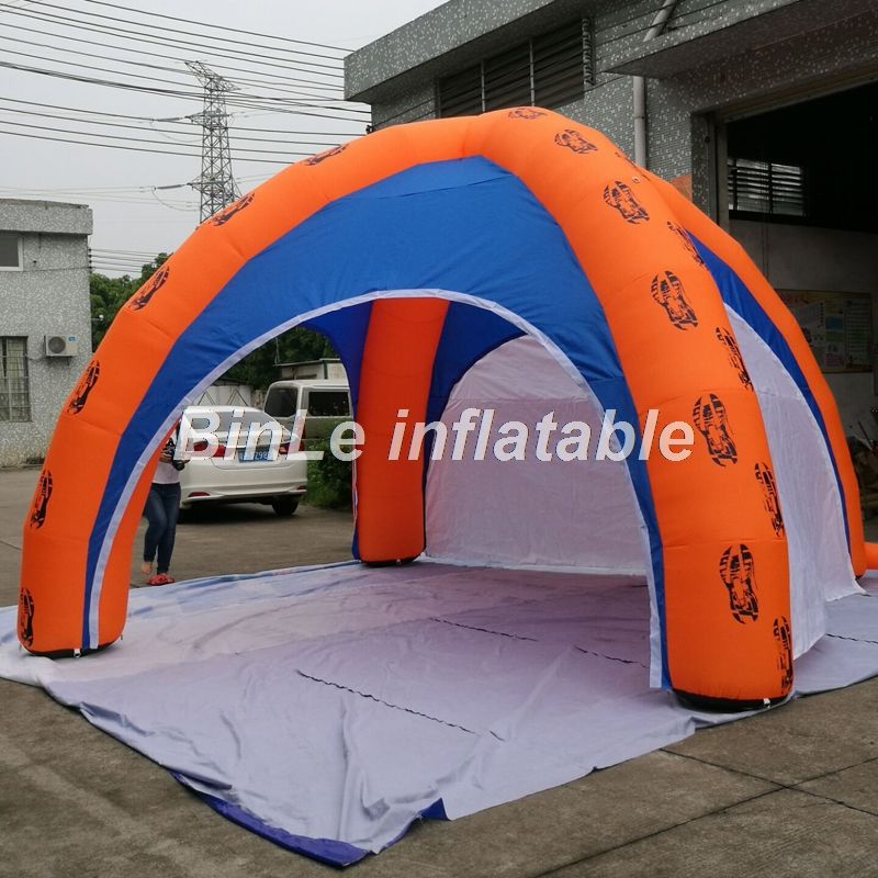 Custom made 6x3m dome shaped inflatable tent for events with 4 removeable walls exhibition inflatable gazebo tent free shipping inflatable house shaped cube tent with window for events toy tent