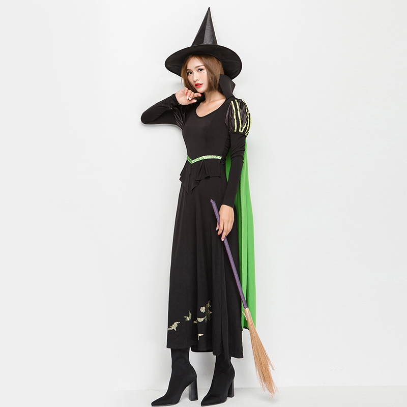 1680621b980 2017 new Adult Witch Costume temperament Womens Magic Moment Costume Adult  sexy witch cosplay costumes for halloween party dress-in Movie   TV costumes  from ...