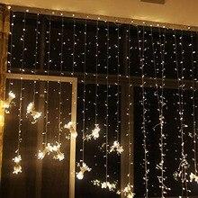 3x3/3x1M LED Wedding fairy Light christmas garland LED Curtain string Light outdoor new year Birthday Party Garden Decoration