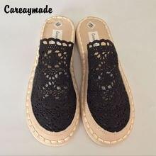 Careaymade чистая обувь ручной работы dichotomanthes ретро искусство