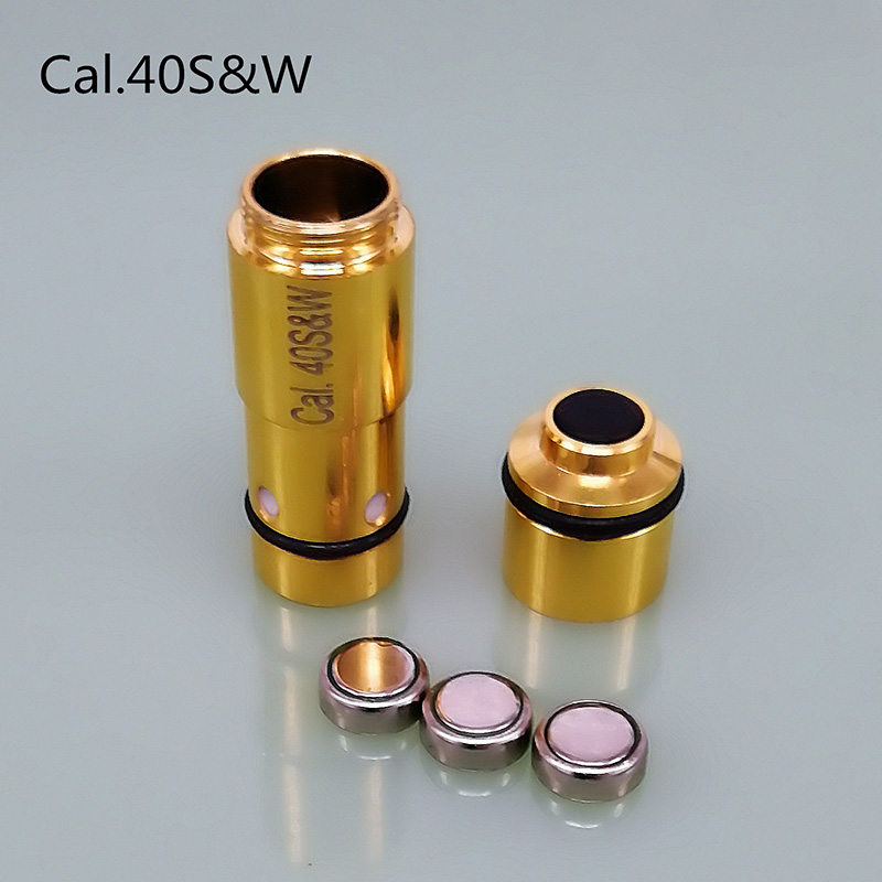 (80ms delay) laser Ammo Bullet Laser Cartridge for Dry Fire Training Shooting Simulation .40S&W 45ACP 380ACP 9mm and replace