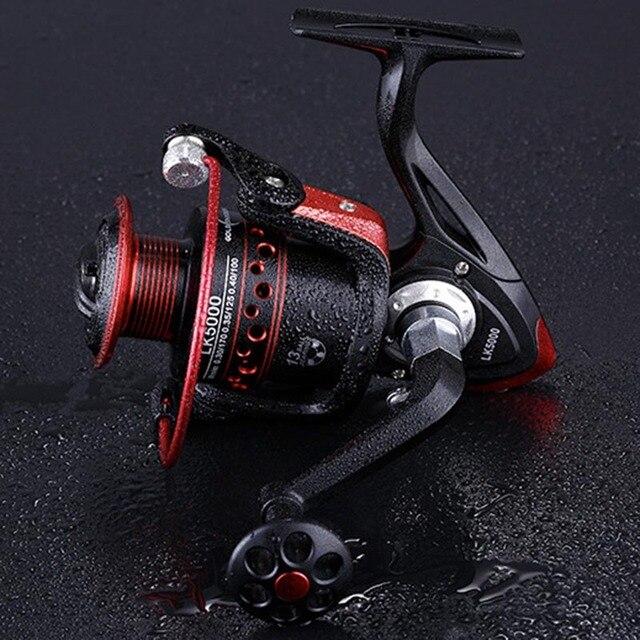Spinning Fishing Reel 13 Ball Bearings Fishing Reels Spinning wheel 5.2:1 Freshwater Spinning Fishing Reel 2000 7000 Series