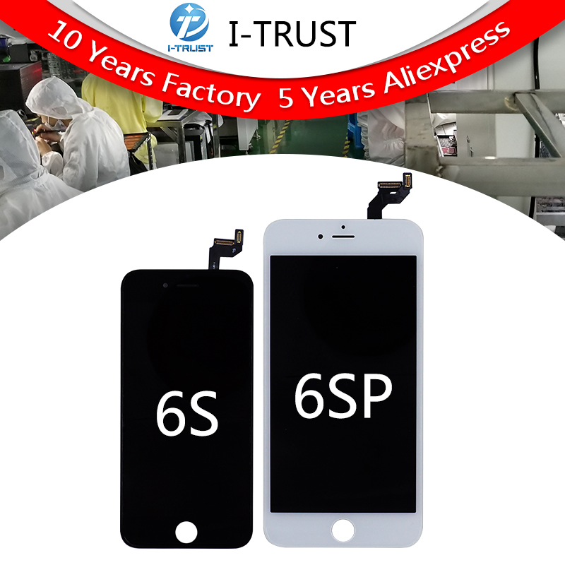 5PCS Free DHL No Dead Pixel AAA LCD For iPhone 6S 6S Plus LCD Display With