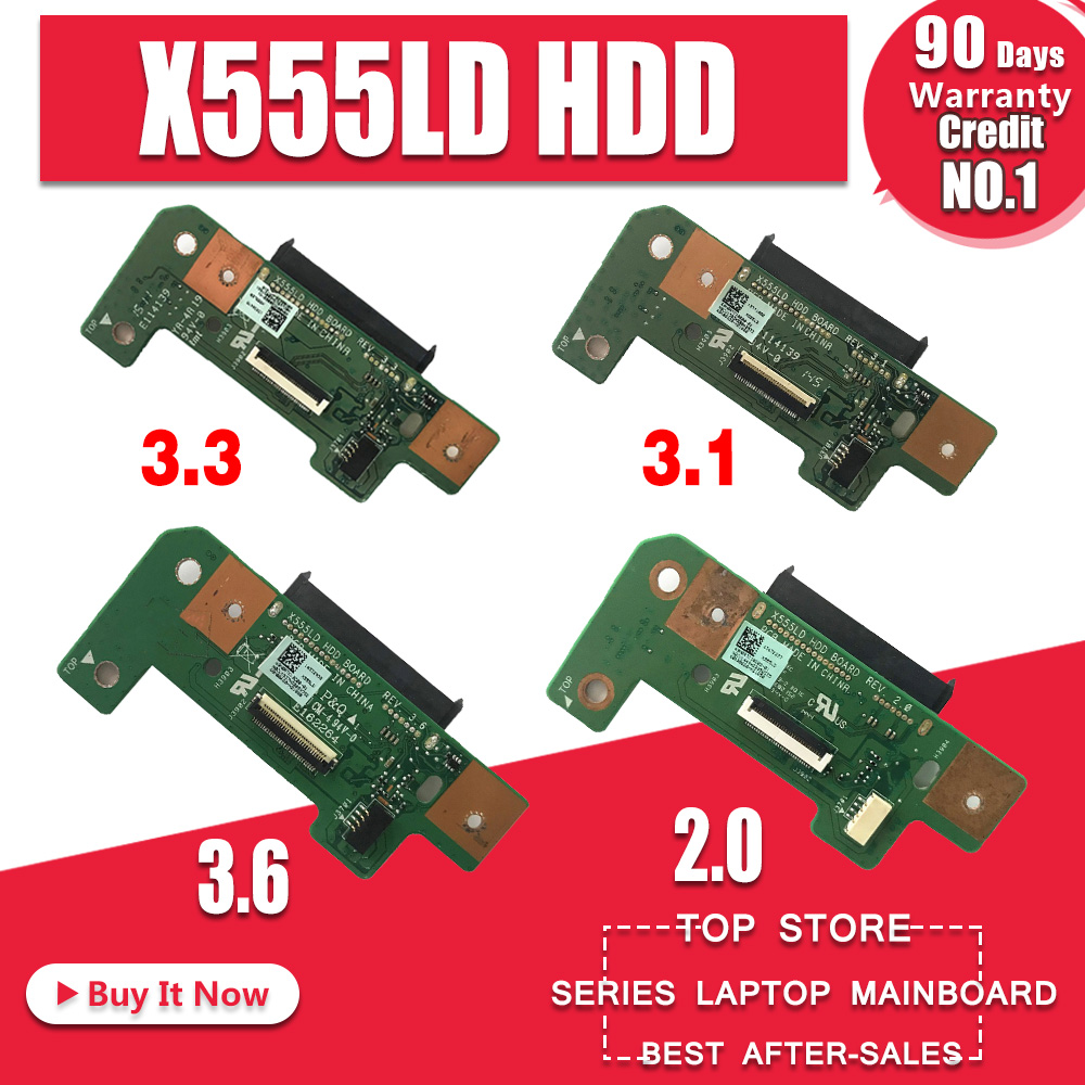 Novo! novo! Original Para Asus X555L X555LD X555LP A555L K555L Laptop HDD Hard Disk Drive Placa X555LD REV: 2.0 3.1 3.3 3.6 1.1 da Interface