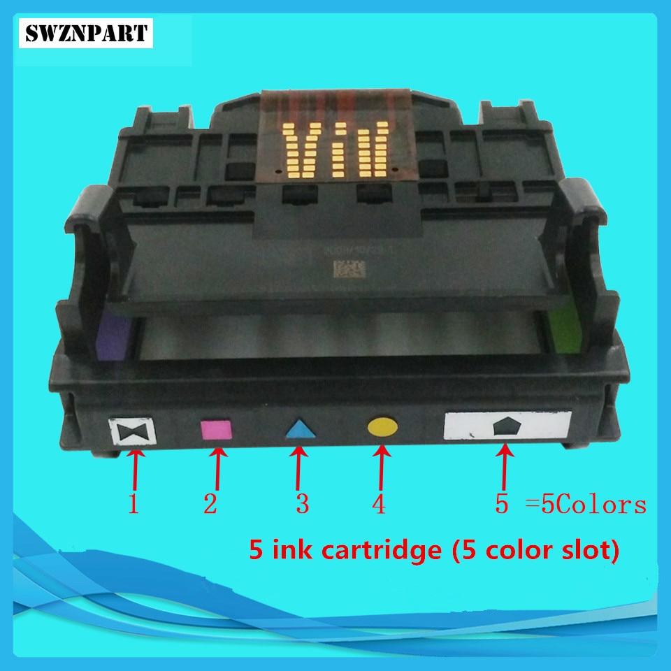 Print head 4 & 5 Color Slot for HP6000 6500 7000 7500A B109A B110A B209A B210A 178 920 XL C410A C510A CN643A CD868-30002 new for b110a b109a b210a b310a printer parts brand new original 4 colours print head