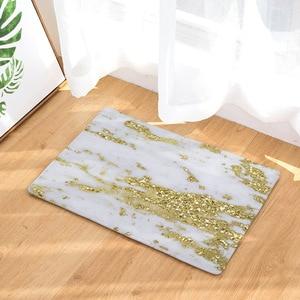 Image 1 - CAMMITEVER Luxsury Marble White Black Gold Carpet Bedroom Mat Rug Carpet for Living Room Rugs For Bedroom Kids Room Wholesale
