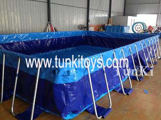 new metal frame pool above ground swim pool frame swimming pool