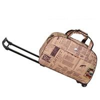 Hot Selling Waterproof Tourism Trolley Bags Men Women Luggage Travel Bags Trolley Wheels Boarding Rolling Luggage