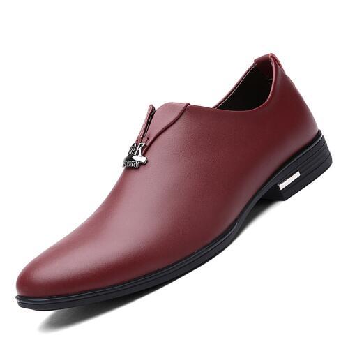 Marca Oxford azul Os Vestido Itália Homens Negócios Sapatas Nova Bolsa Vermelho Luxo Preto Chegada vermelho Qualidade Dos Superior Couro Para Sapatos Casamento De Masculino 6HYnw5BwqZ