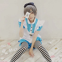 Black Butler Ciel Phantomhive Cosplay Maid Unifrom