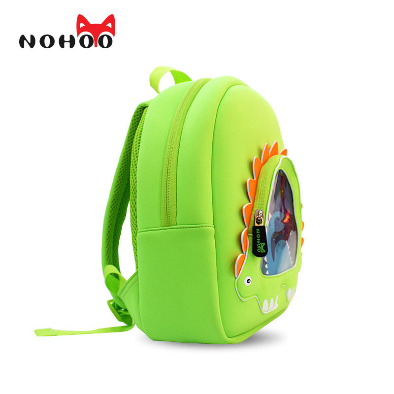 Nohoo Dinosaur Children Waterproof School Backpack For Kids Cartoon