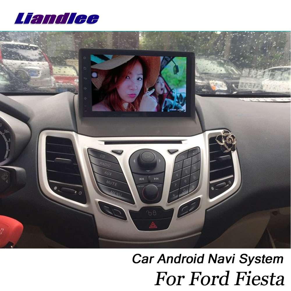 Liandlee Car Android System For Ford Fiesta ST 2008~2019 Radio GPS Navi MAP Navigation Wifi BT Camera Multimedia NO DVD Player