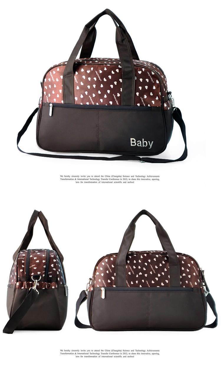 insular multifunctional diaper bags maternity mummy handbag baby care stroller bag High capacity mother Messenger nappy bags 15