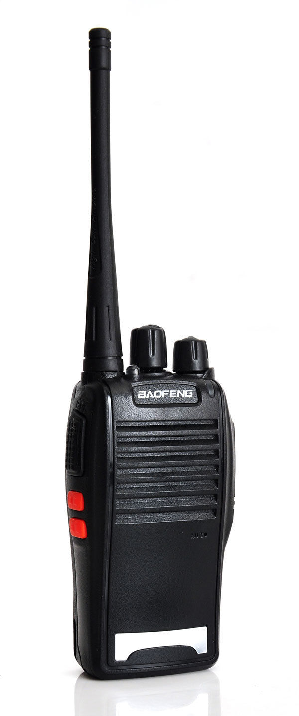 New Two-Way Radio Baofeng BF-777S UHF 400-470MHz 5W 16CH Walkie Talkie Black