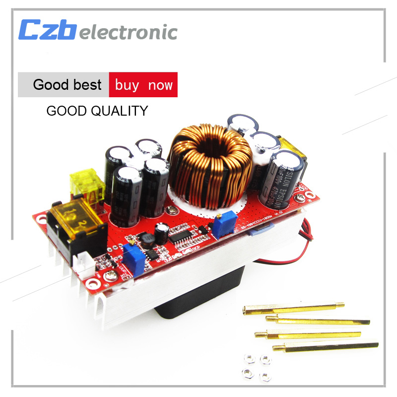 1800W 40A DC-DC Boost Converter 10-60V to 12-90V Step Up Power Supply Module wholesale 1pcs dc dc step up converter boost 2a power supply module in 2v 24v to out 5v 28v adjustable regulator board dropship