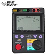SMART SENSOR AR3126 250/500/1000/2500V Megger Insulation Earth Ground Resistance Tester Megohmmeter Voltmeter Tester цена