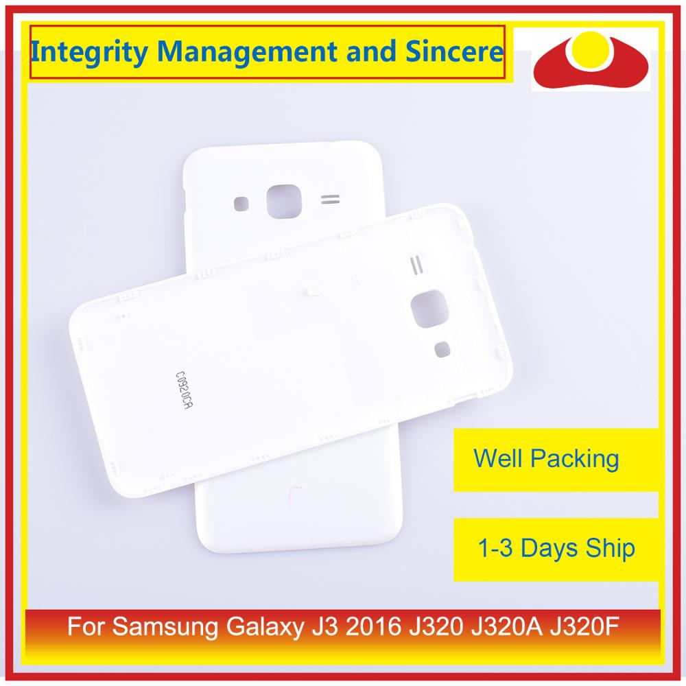 Image 3 - 50Pcs/lot For Samsung Galaxy J3 2016 J320 J320A J320F J320M J320FN Housing Battery Door Rear Back Cover Case Chassis Shell-in Mobile Phone Housings & Frames from Cellphones & Telecommunications