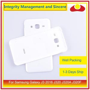 Image 3 - 50Pcs/lot For Samsung Galaxy J3 2016 J320 J320A J320F J320M J320FN Housing Battery Door Rear Back Cover Case Chassis Shell
