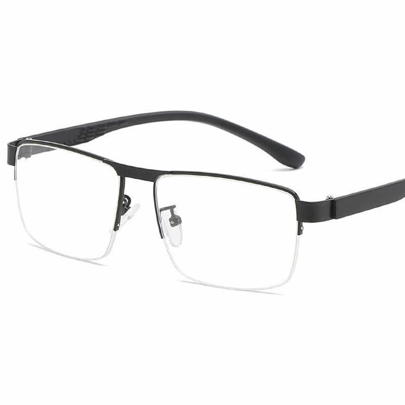 Cubojue Monturas De Gafas Para Hombre Semi Montura Gafas Para Hombre Gafas Graduadas Opticas Doradas Negras Grandes Tallas Grandes De Los Hombres Gafas De Marcos Aliexpress