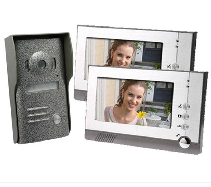 7 Digital Screen Wired Intercom Video Door Phone