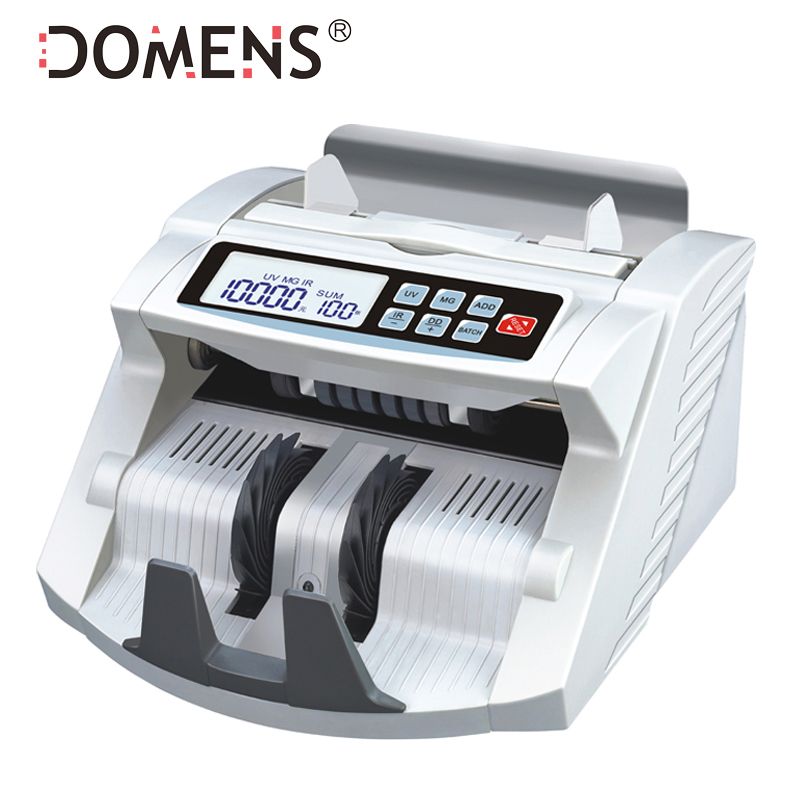 Bill Counter UV+MG+SIZE+IR Money Counter Suitable for Multi-Currency DMS-180T with LCD DISPLAY Cash Counting Machine ocbc 2108 low price bill counter with uv and mg function