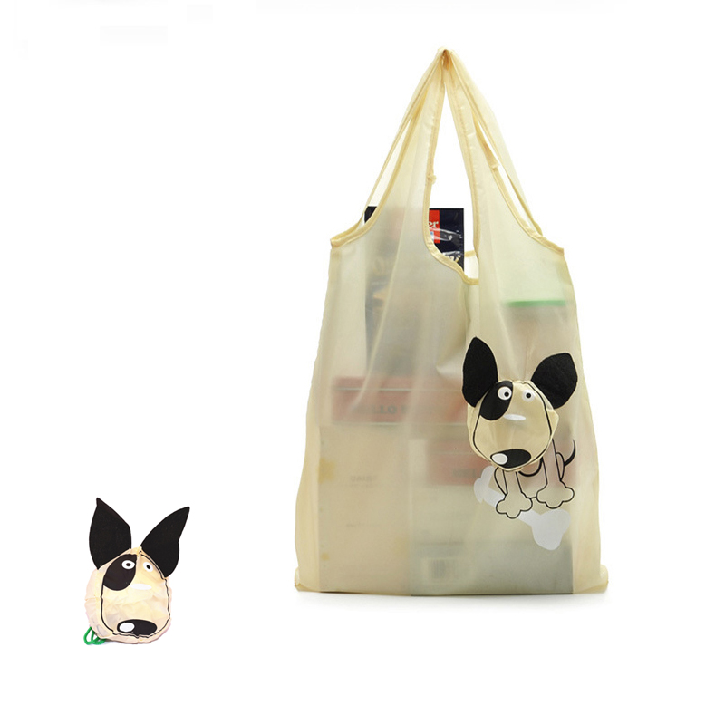 Hot Sale Cartoon Wildlife Children Animal Recycle Customized Proable Kids Shopping Toy Storage Buggy Bag