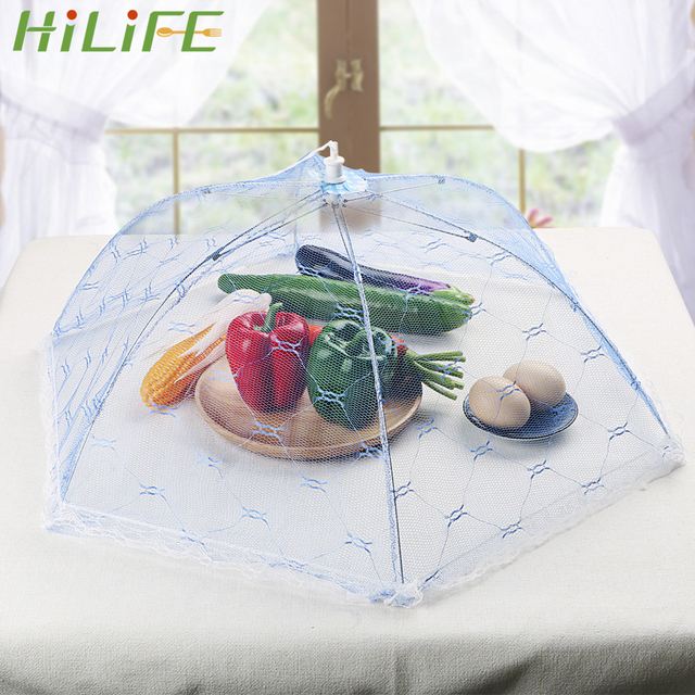 Hilife Fly Mosquito Resistant Net Tent Umbrella Style Foldable Table