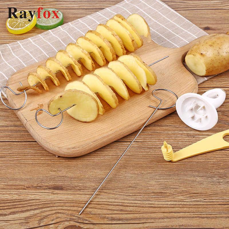 Batata espiral cortador de pepino slicer acessórios de cozinha vegetal spiralizer espiral cortador de batata slicer cozinha gadgets ferramentas