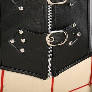 Image 5 - מיס מולי Steampunk מחוך גותי Bustier עצמות Overbust שמלת Underbust ורלסק למעלה בתוספת גודל 6Xl בטן הרזיה בגדים