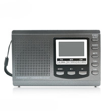 Foreign trade sources Portable FM AM radio four or six English listening test