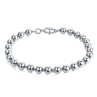 YJ00152 New Fashion 990 Sterling Silver Bracelet Buddha Pearlescent Ball Ornaments Women Jewelry