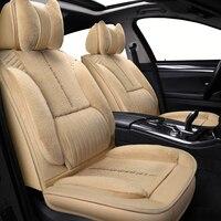 Auto automobiles Plush Universal car seat cover For Suzuki all model swift grand vitara Kizashi S CROSS VITARA sx4 Baleno car